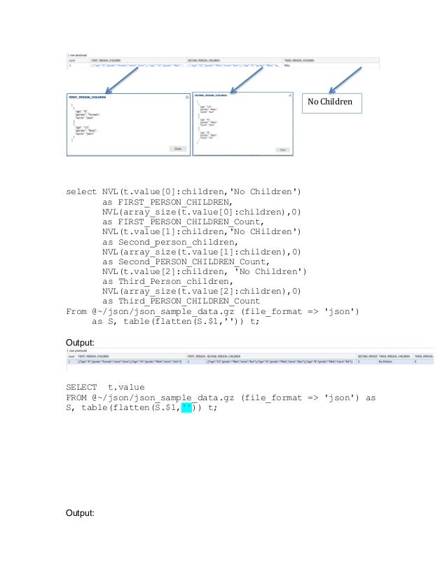 JSON Data Parsing in Snowflake (By Faysal Shaarani)
