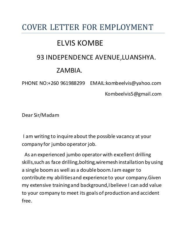 Cover Letter Production Clerk Mock Cover Letter For Resume Production  Supervisor Resume Sample Example Template Job