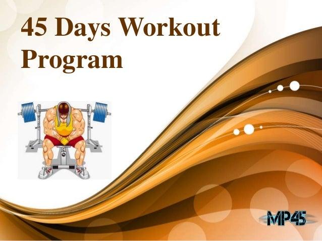 45 Days Workout Program