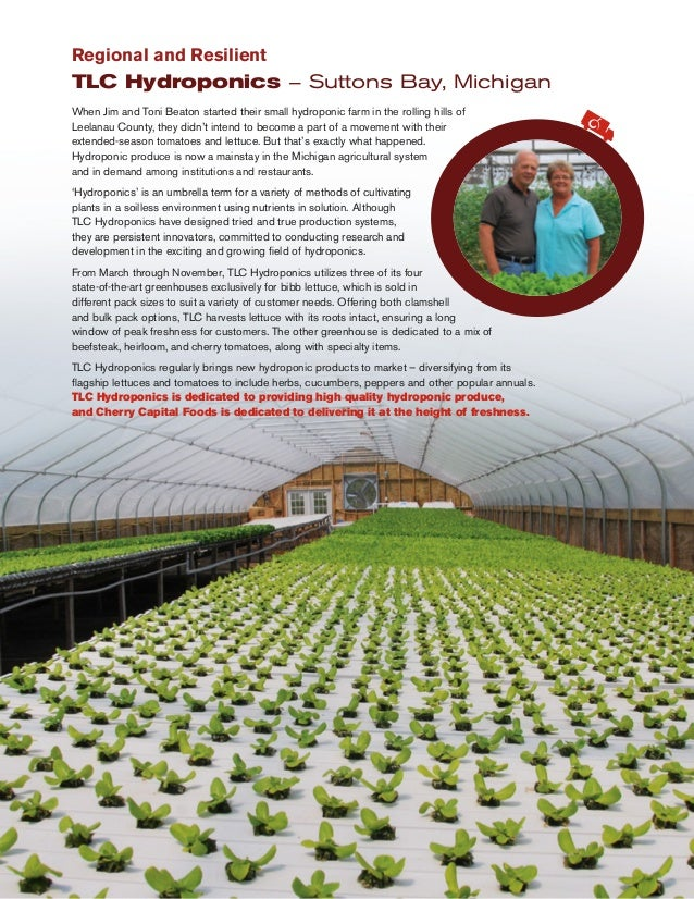 When Jim and Toni Beaton started their small hydroponic farm in the rolling hills of Leelanau County, they didn't intend t...