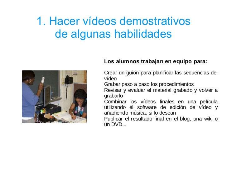 45 ideas para el uso del móvil en el aula. CeDeC Slide 2