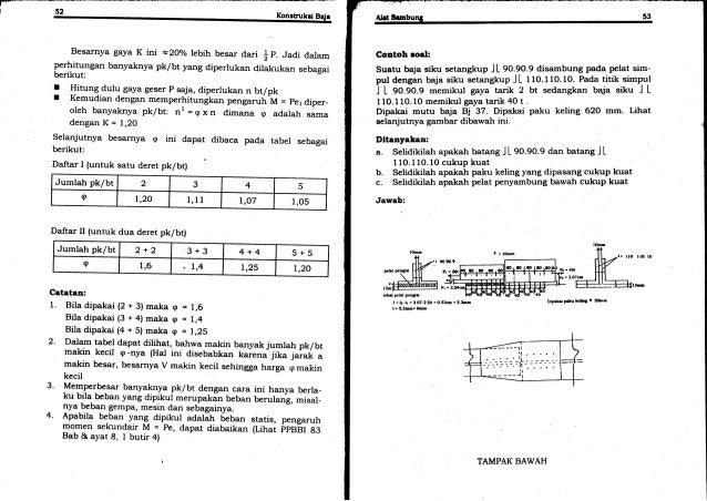 45 konstruksi baja ir oenteng rh slideshare net