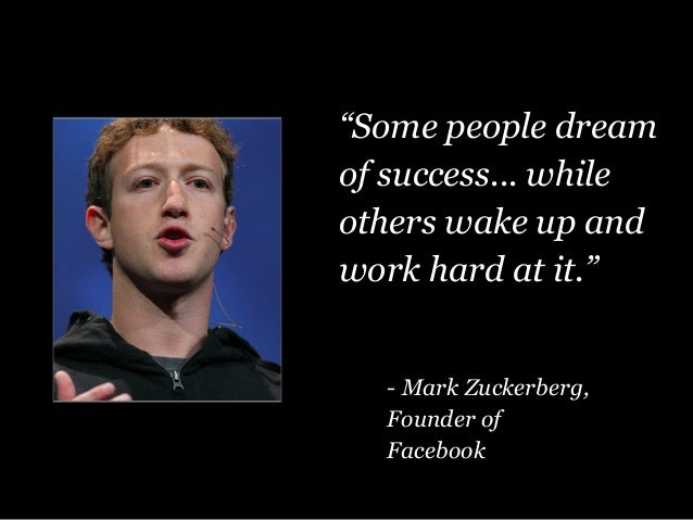 """""""Some People Dream Of Success"""