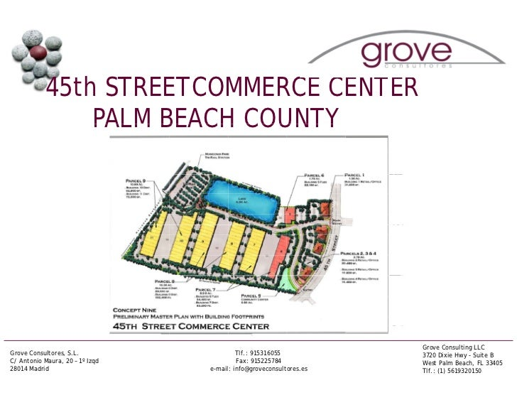 45th STREETCOMMERCE CENTER                PALM BEACH COUNTY                                                               ...