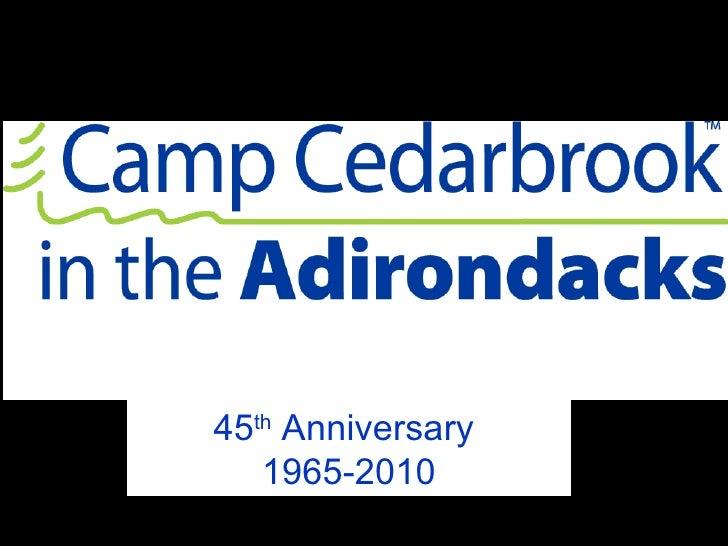45 th  Anniversary  1965-2010