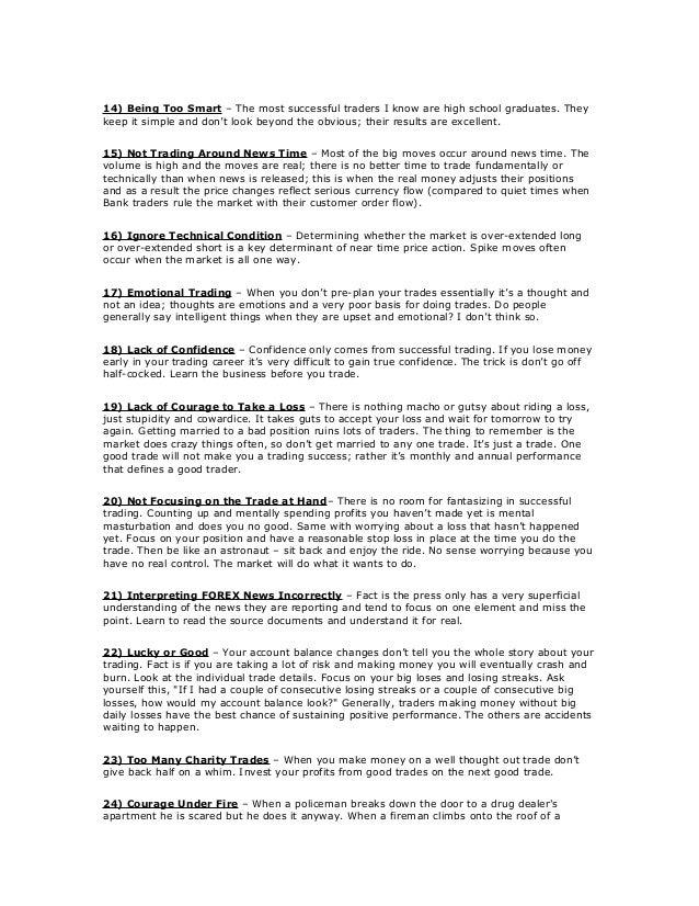 45 ways to avoid losing money trading forex.pdf