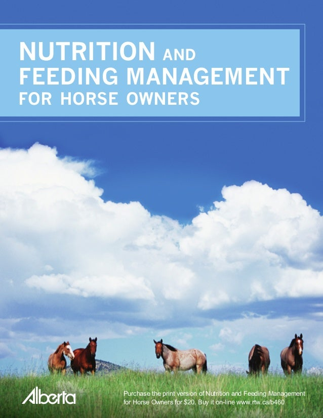 horse feeding and nutrition pdf