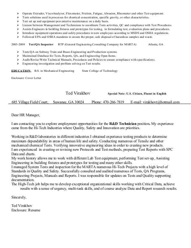 SlideShare  Lab Tech Resume
