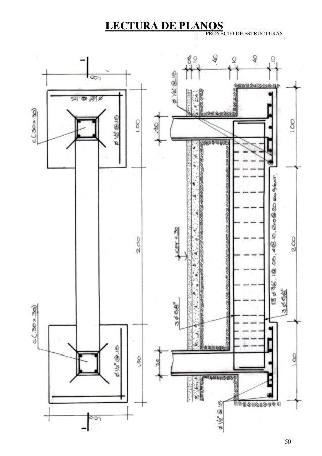 46122487 lectura de planos for Planos de estructuras