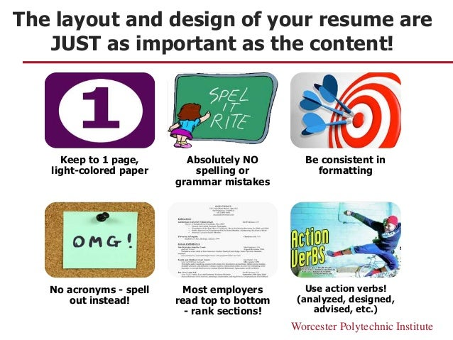 Image result for Why the Layout of Your CV is just as Important as the Content