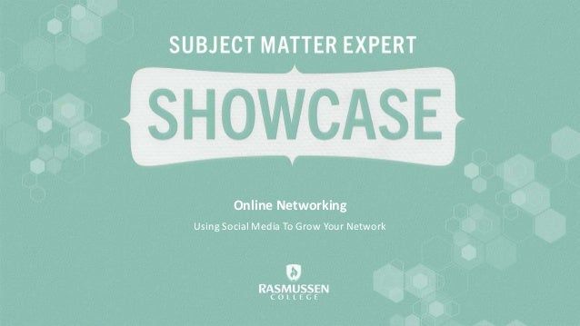 Online Networking Using Social Media To Grow Your Network