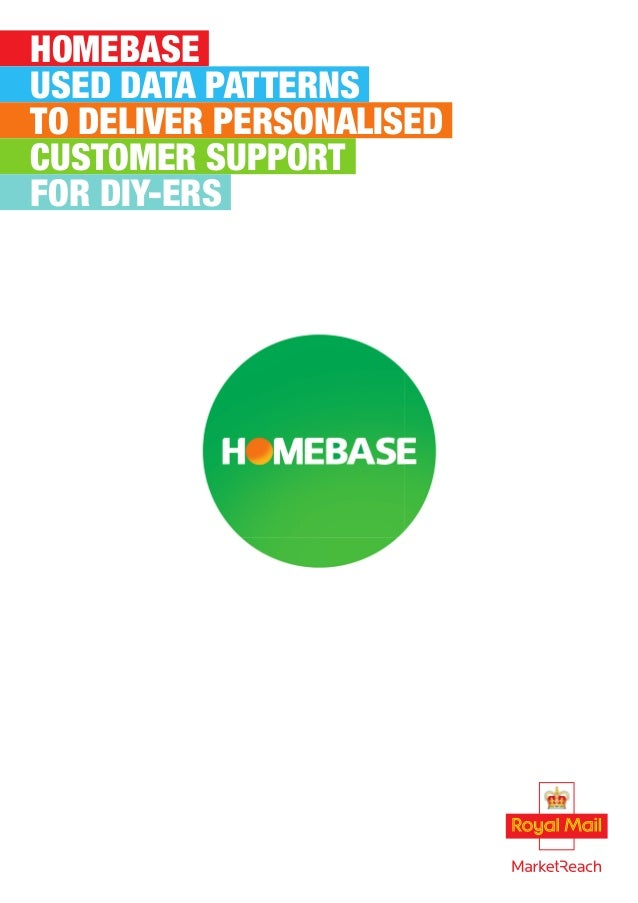 HOMEBASE USED DATA PATTERNS TO DELIVER PERSONALISED CUSTOMER SUPPORT FOR DIY-ERS
