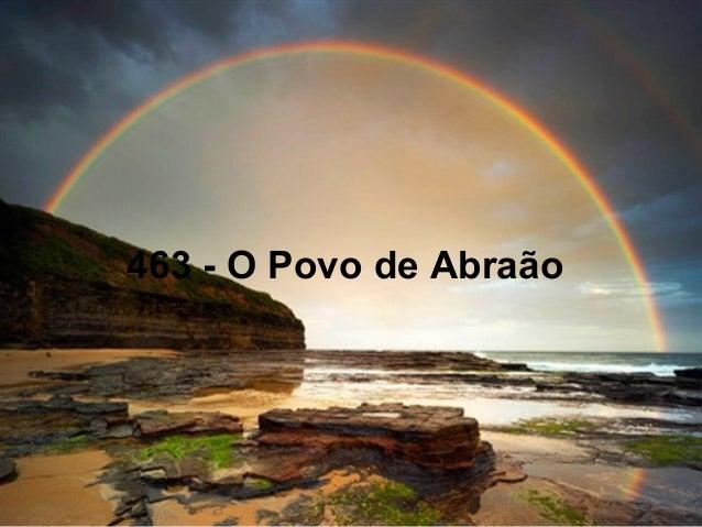 463 - O Povo de Abraão