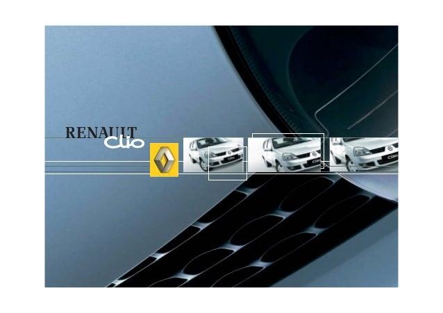 Manual do Renault Clio
