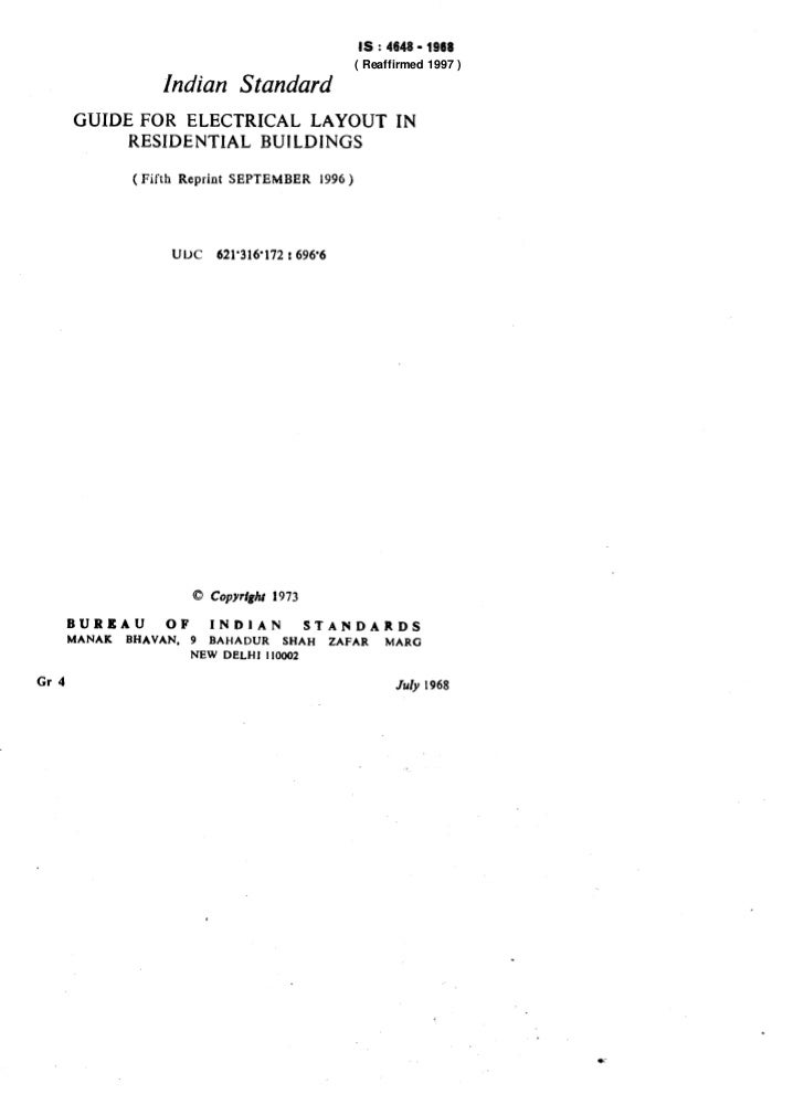 IS : 4648 - 1968                                                               ( Reaffirmed 1997 )                     Ind...