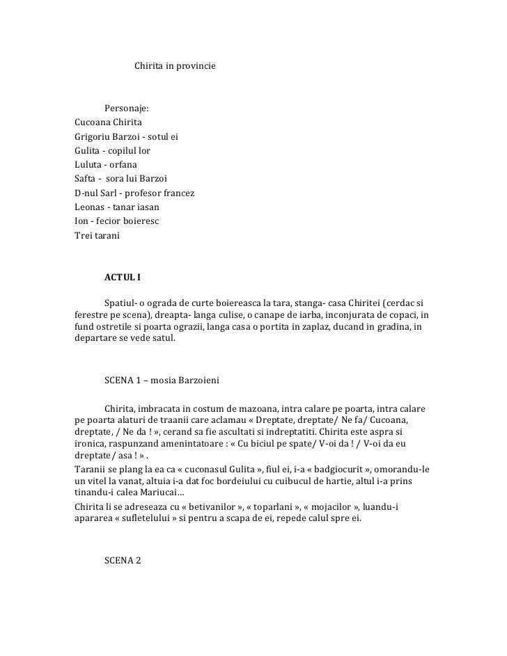 46542672 chirita-in-provintie-rezumat-pe-acte