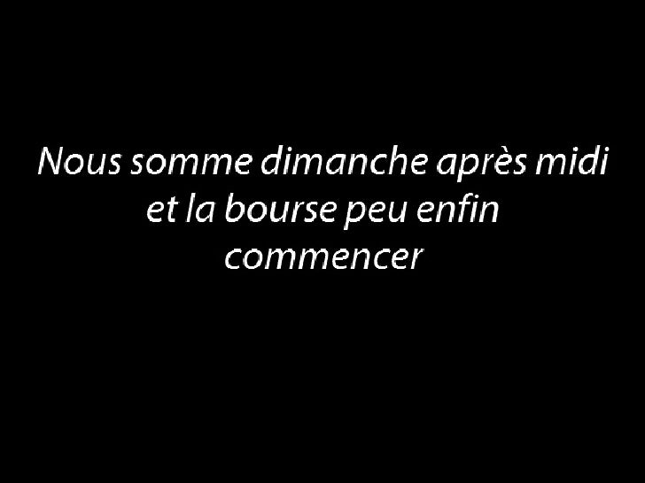 Bourse Du Dimanche 18 mai 2008