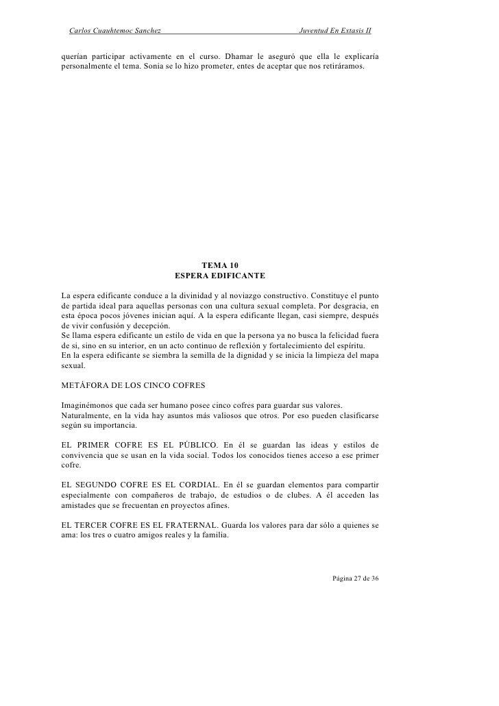 Cuauhtemoc Sanchez Carlos - Juventud En Extasis 2.PDF