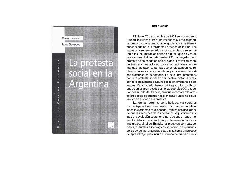 Introducción         El 19 y el 20 de diciembre de 2001 se produjo en la Ciudad de Buenos Aires una intensa movilización p...