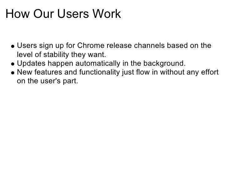 Chrome发布周期 Slide 3