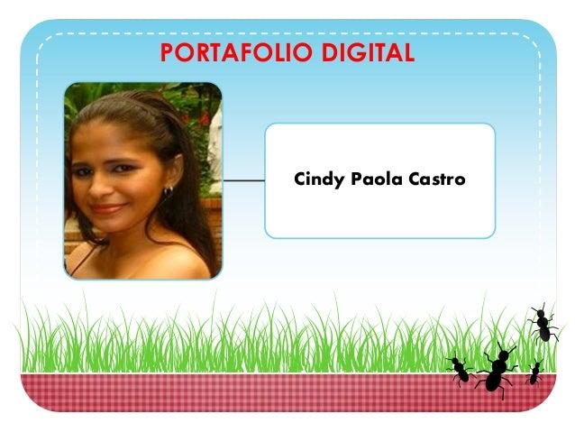 PORTAFOLIO DIGITAL Cindy Paola Castro