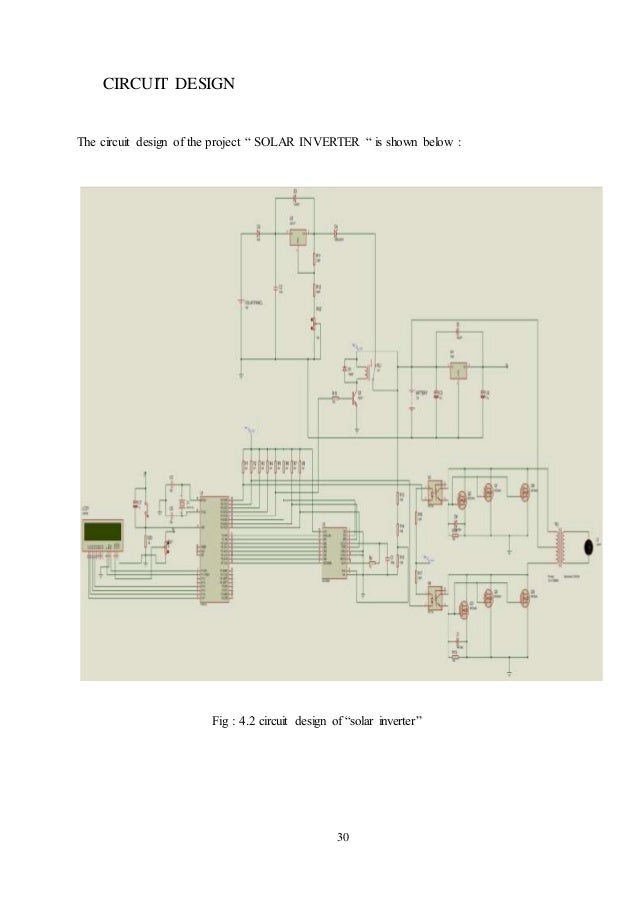 "4 1 block diagram of ""solar inverter"""