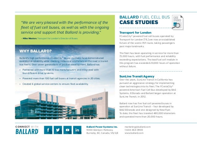 Ballard Bus Brochure