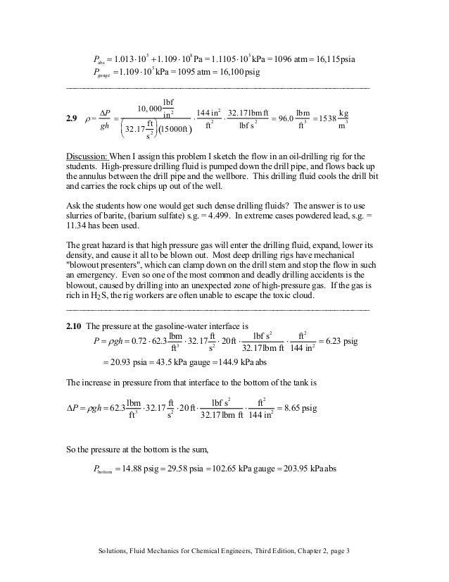 Pabs = 1.013⋅10 5 +1.109⋅10 8 Pa = 1.1105⋅10 5 kPa = 1096 atm = 16,115psia Pgauge =1.109 ⋅10 5 kPa = 1095 atm = 16,100 psi...