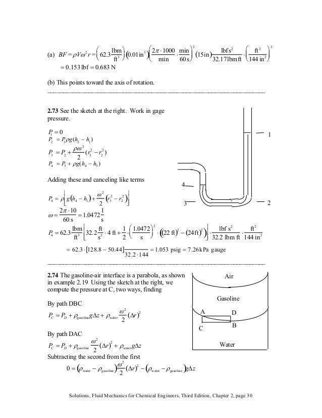 (a) BF = ρVω2 r = 62.3 lbm ft3 ⎛ ⎝ ⎜ ⎞ ⎠ ⎟ 0.01in3 ( ) 2π ⋅1000 min ⋅ min 60s ⎛ ⎝ ⎜⎜ ⎞ ⎠ ⎟⎟ 2 15in( ) lbfs2 32.17lbmft ⋅ f...