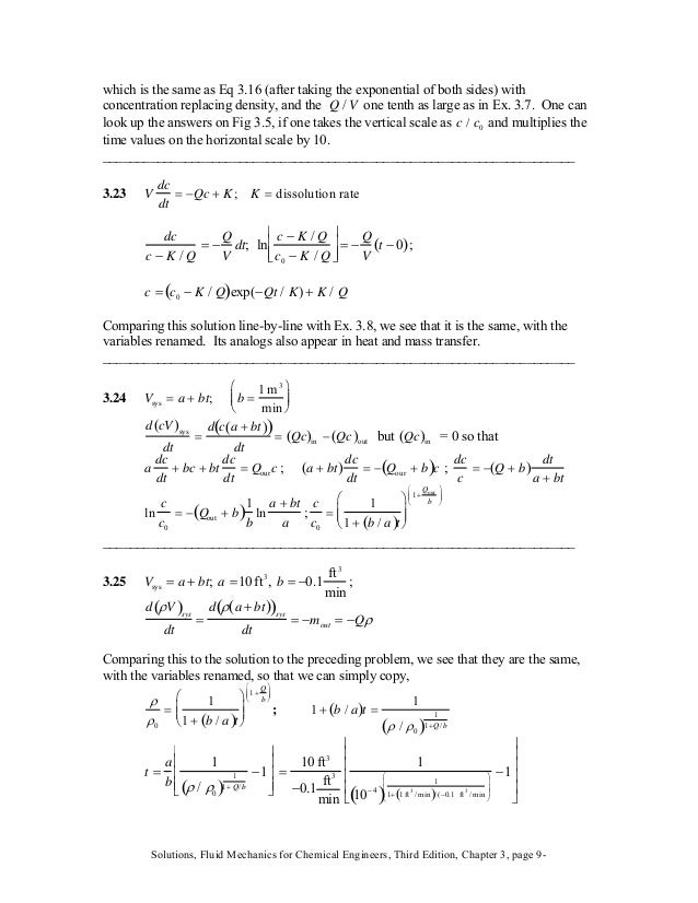 which is the same as Eq 3.16 (after taking the exponential of both sides) with concentration replacing density, and the on...