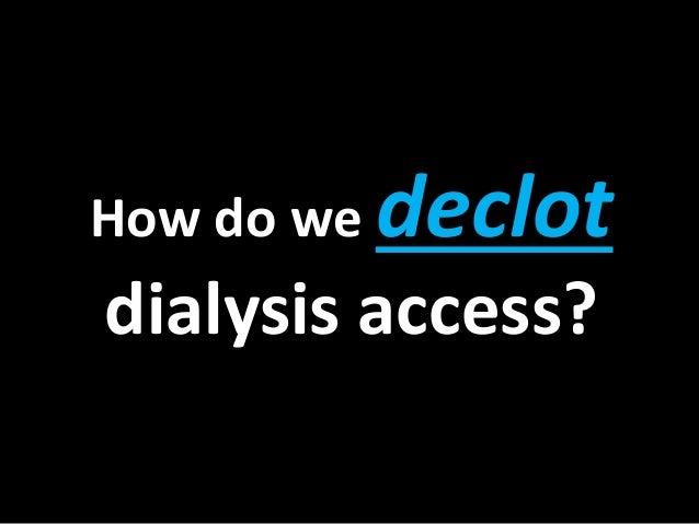 Declot