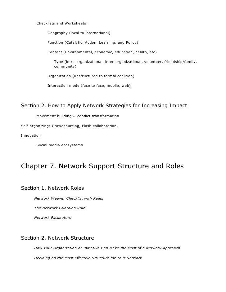 network weaver handbook workgroup. Black Bedroom Furniture Sets. Home Design Ideas