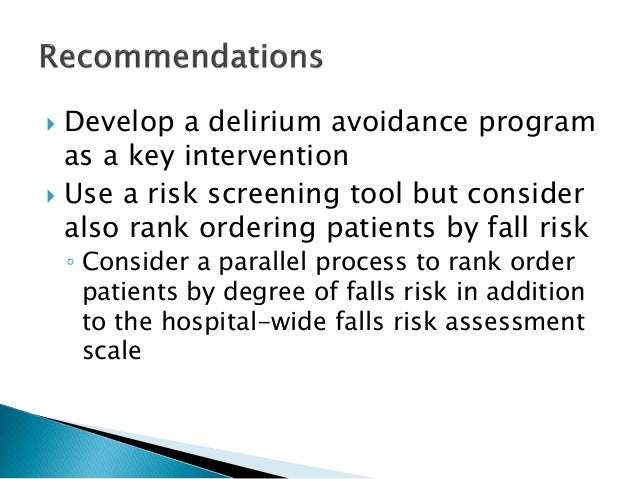 fall prevention in hospitals Fall prevention is a variety of actions to help reduce the number of accidental falls suffered by older people exercise interventions in subacute hospital settings reduce falls in older adults , and so do multifactorial interventions in hospitals see also.