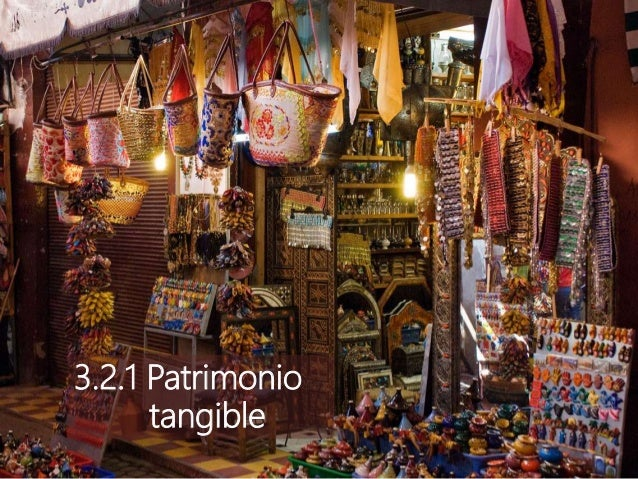 3.2.1 Patrimonio tangible