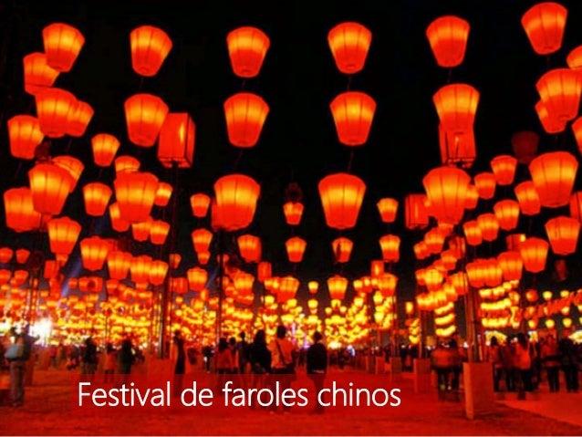 Festival de faroles chinos