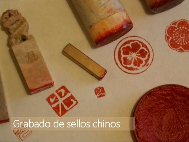 Grabado de sellos chinos