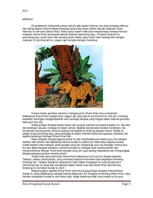 H-SMOWGLI        Di pedalaman India pada zaman dahulu ada seekor harimau tua yang tempang kakinyadan paling dibenci oleh b...