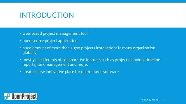 open project tool ppt