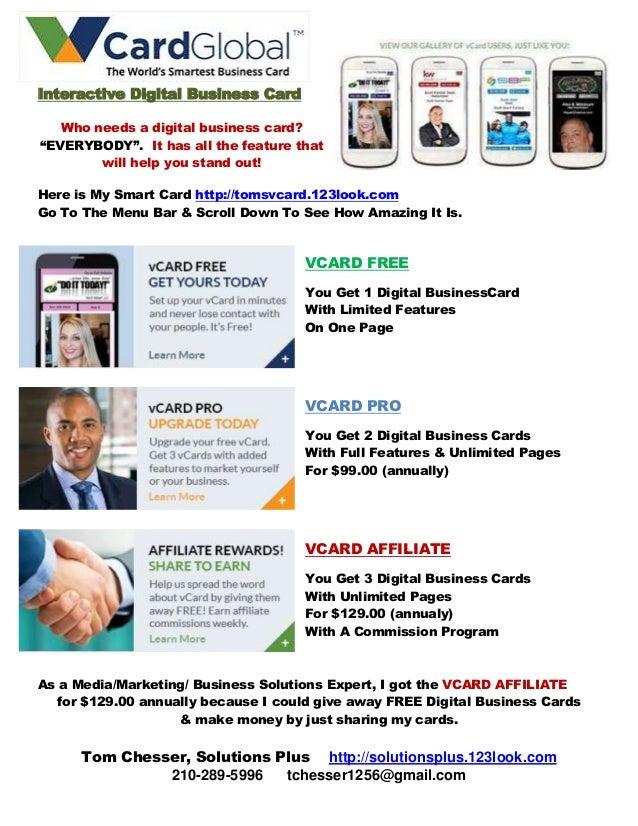 Free digital business card interactive digital business card who needs a digital business card everybody it colourmoves