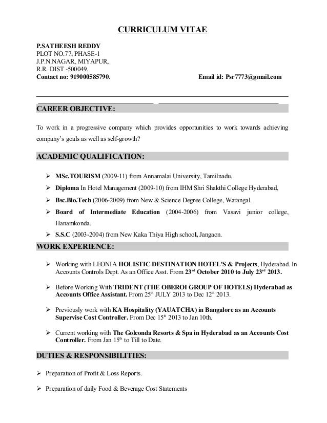 Resume Cost Maco Ibaldo Co