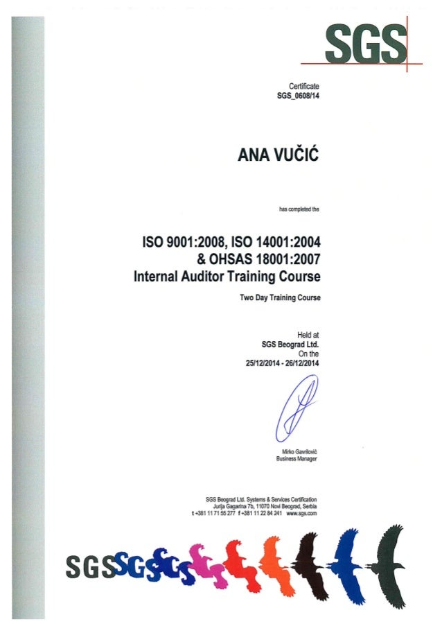 Iso 9001 lead auditor training ppt