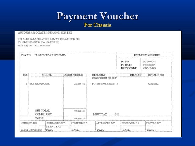 official invoice format