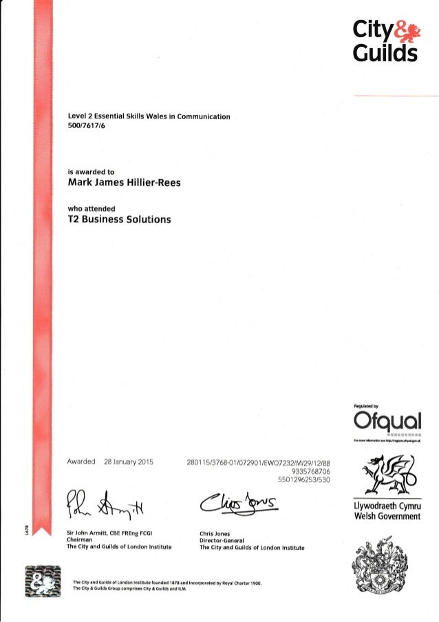 nvq 5 communication 01: nvq_circular_01_2016: installation of quality management system and development of quality culture in training centers: 02: nvq_circular_02_2016: equivalence of national diploma in information and communication technology (ndict) to nvq level 5.