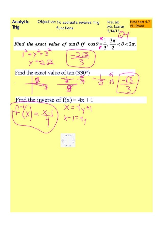 4-7 Inverse Trig Functions pdf