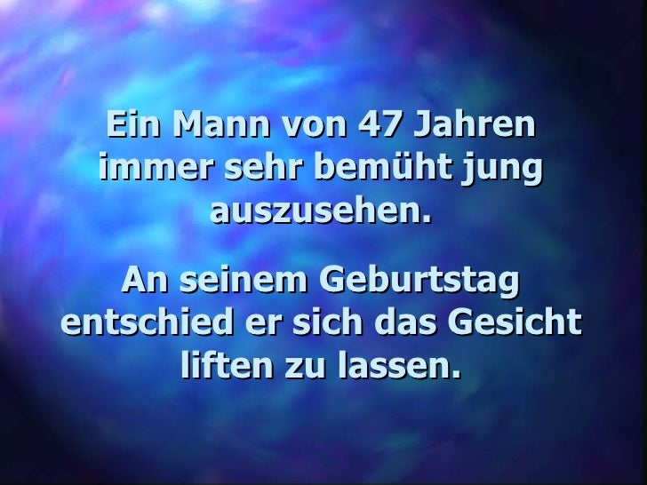 Geburtstag mann 47