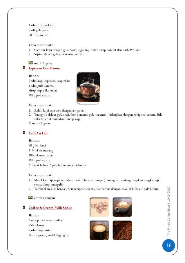 Cara Pakai Coffee Maker Electrolux : The Prince Coffee Shop_1