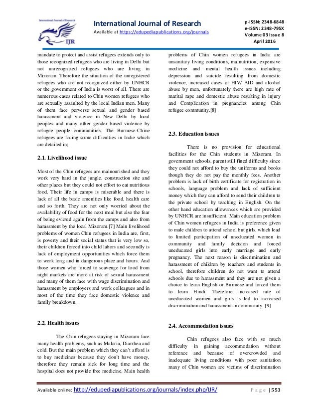 refugee protection in india World report 2015: india  although it has not ratified the un refugee conventions, india continued to  nor did india speak up to call for the protection of.