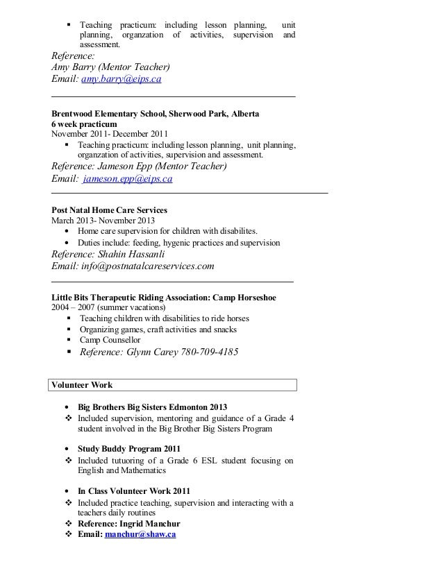 Camp instructor resume – Camp Counselor Resume