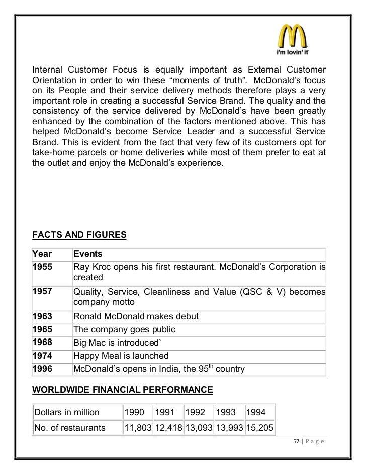 Mcdonalds Crew Member Job Description 47191535 100 Mks Project On Mc Donalds