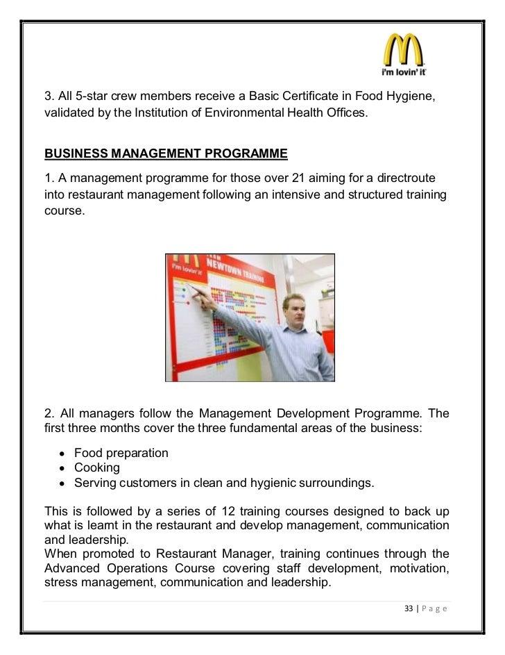 mcdonalds marketing strategies rh slideshare net Handbook for McDonald's Crew McDonald's Training Manual